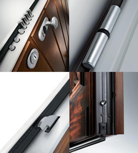 gepantserde deur Dierre - kenmerken