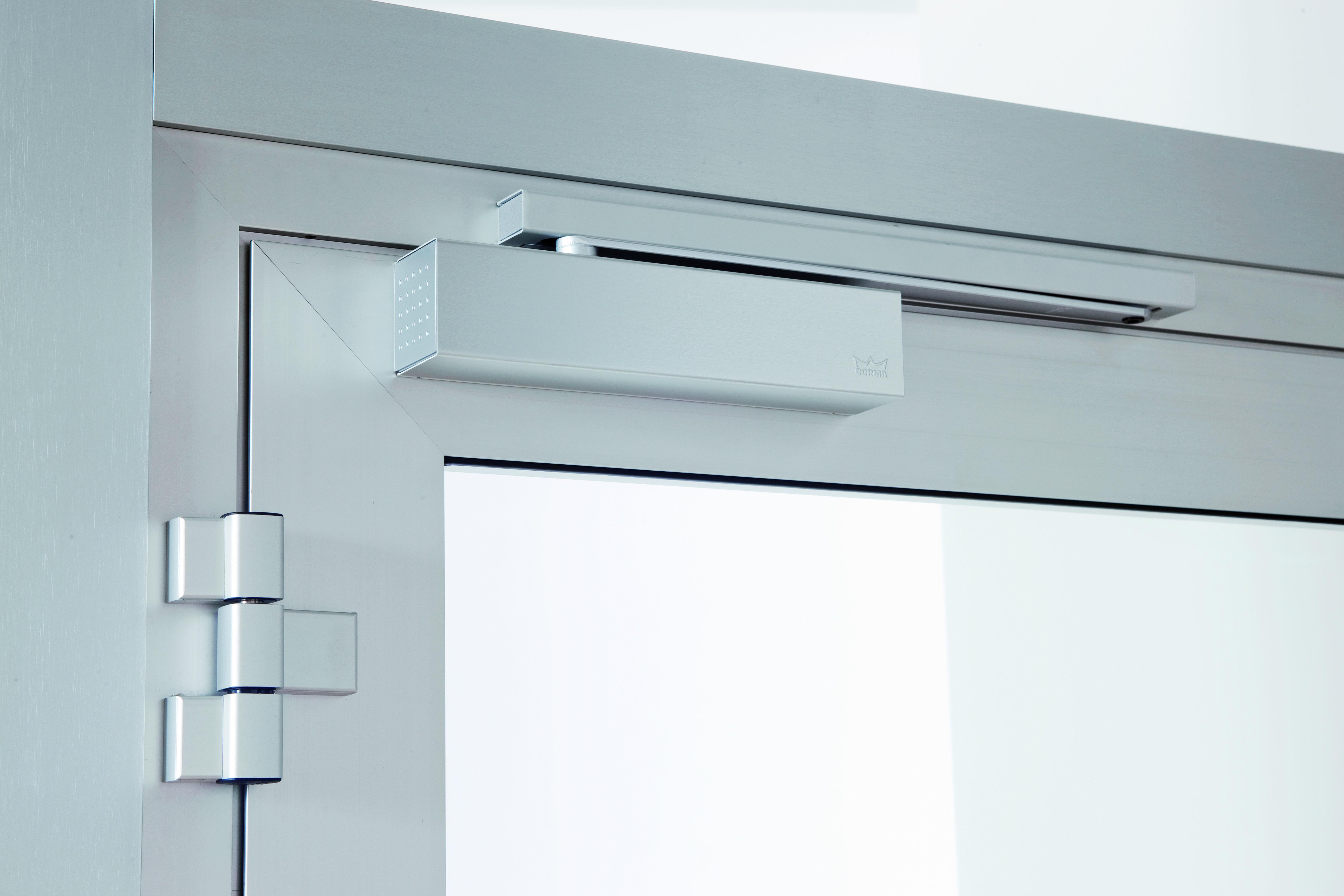 Fermeporte Et Pivot De Sol Disponible Chez Lock Security - Ferme porte automatique
